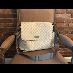 Gucci Diaper Bag! Gently used!!